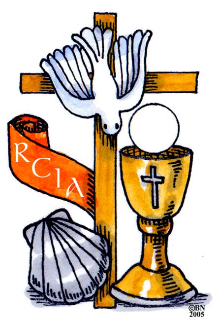 Rcia ac rite of. Catholic clipart sacraments