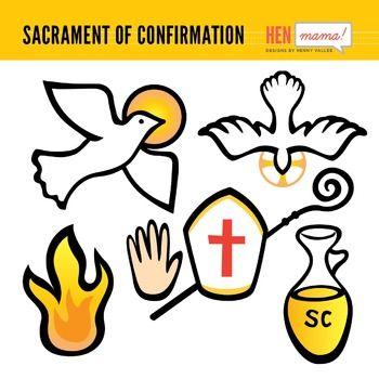 Catholic clipart sacraments. Sacrament of confirmation clip