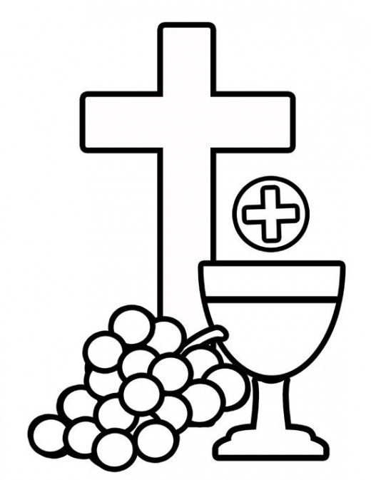 Free first holy communion. Catholic clipart sacraments