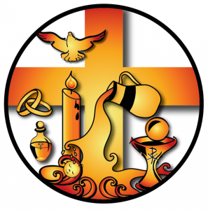 Seven gifts of love. Catholic clipart sacraments