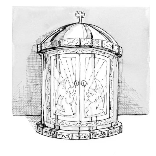 Clipartix. Catholic clipart tabernacle