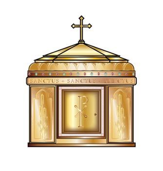 Catholic clipart tabernacle. Mass items clip art