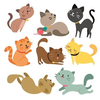 Cats clipart. Free station