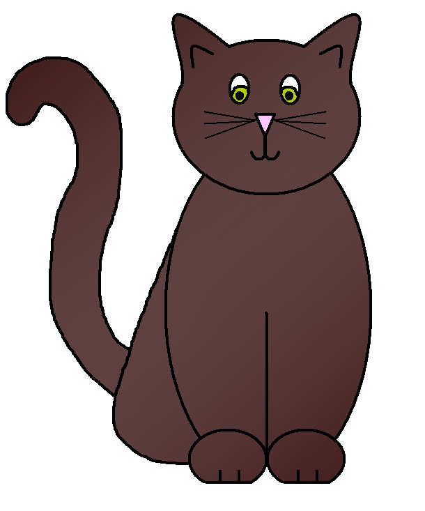 Clipart cat king. Graphics by ruth cats