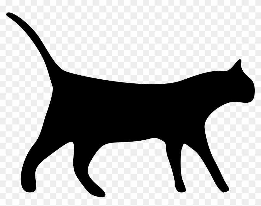 Cat transparent black hd. Cats clipart clear background
