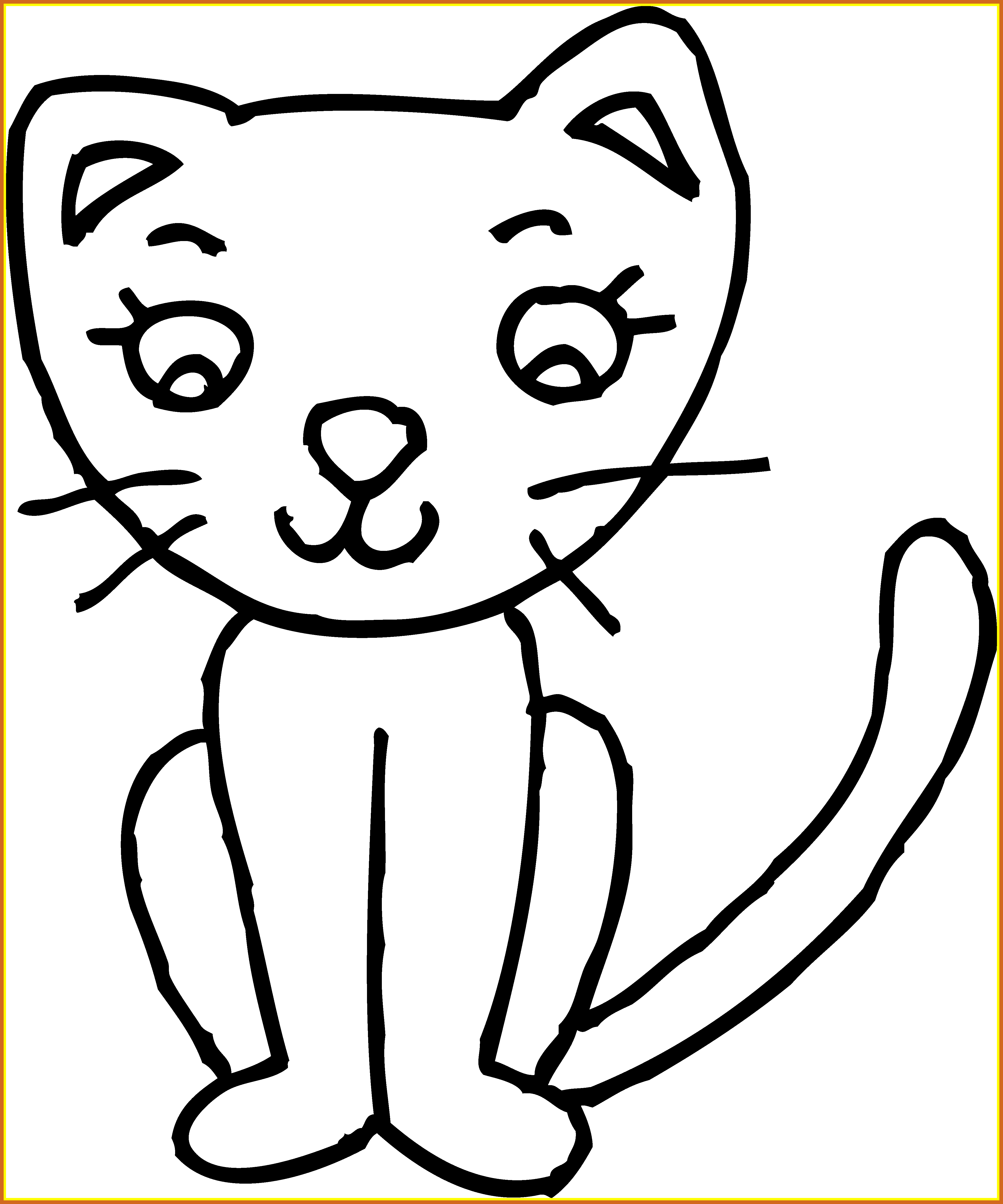 Clipart cat easy. Best pic for on