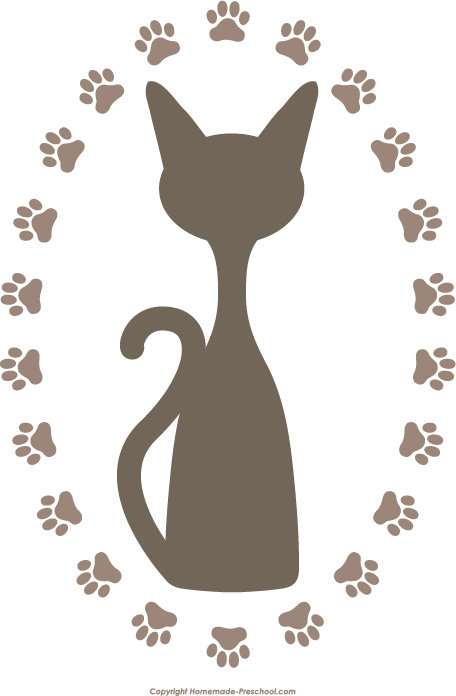 Free prints click to. Pet clipart paw