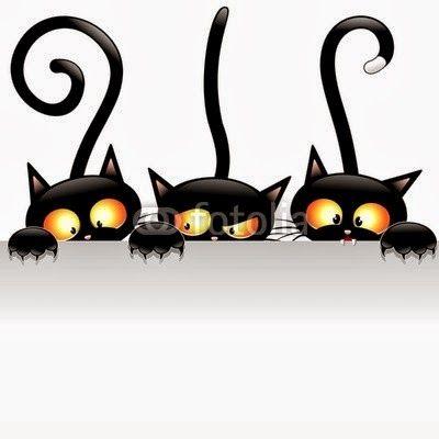 Black attack meooww blog. Cats clipart post