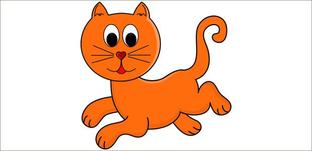 Cats clipart run. Cat free download clip