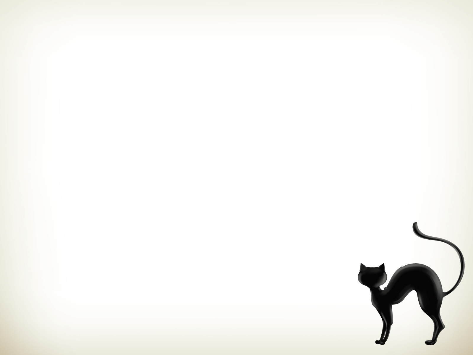 Cats clipart template. Black cat free ppt