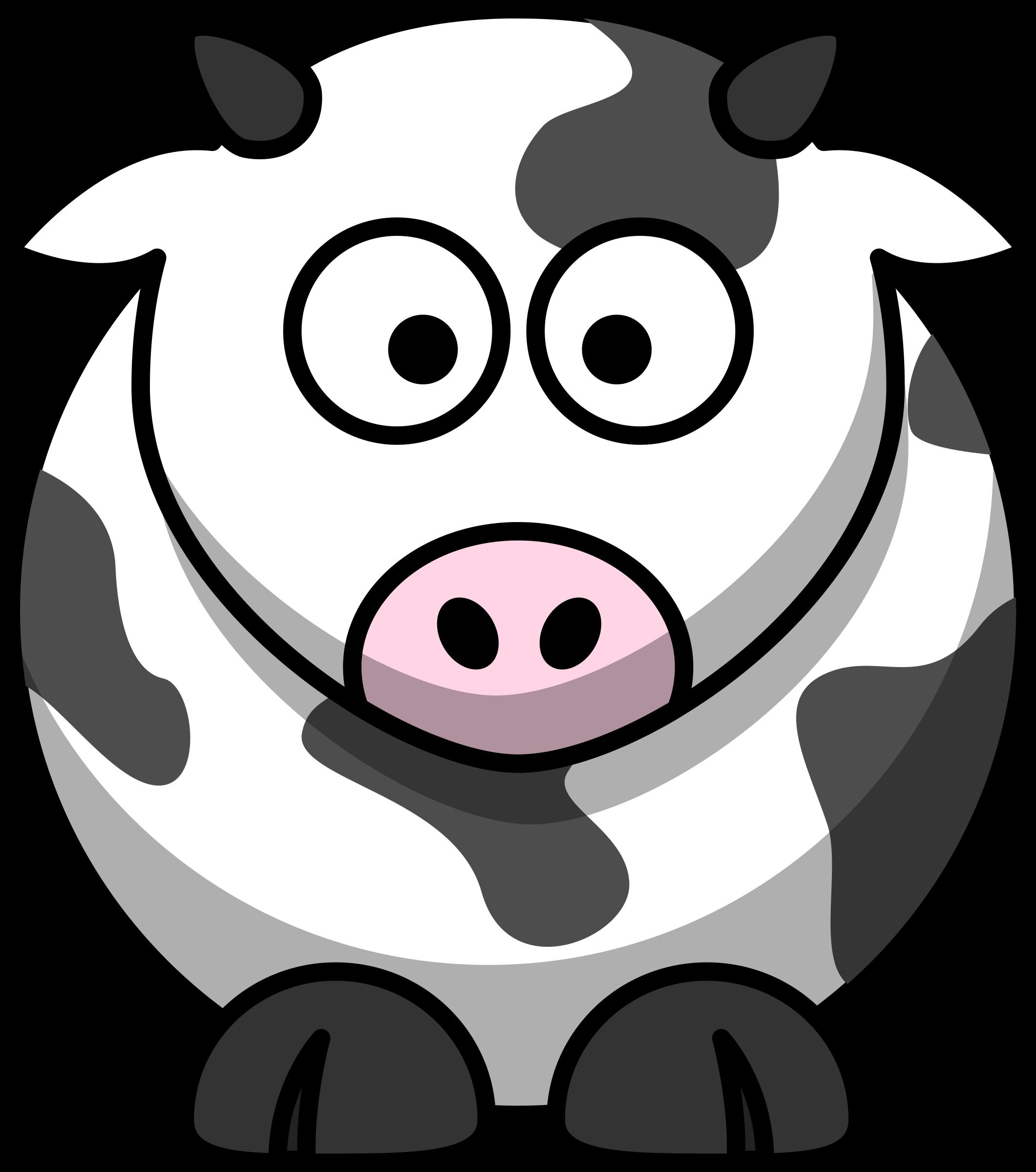 Nose clipart cartoon clip art. Cow big image png
