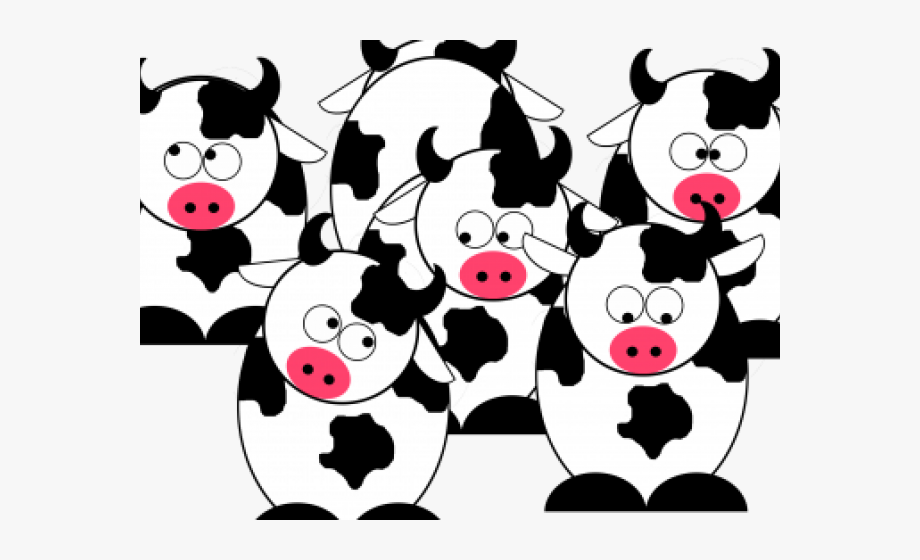 Cattle clipart cattle herd. Cow cartoon free cliparts