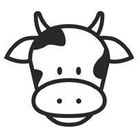 Free kids coloring best. Cow clipart face