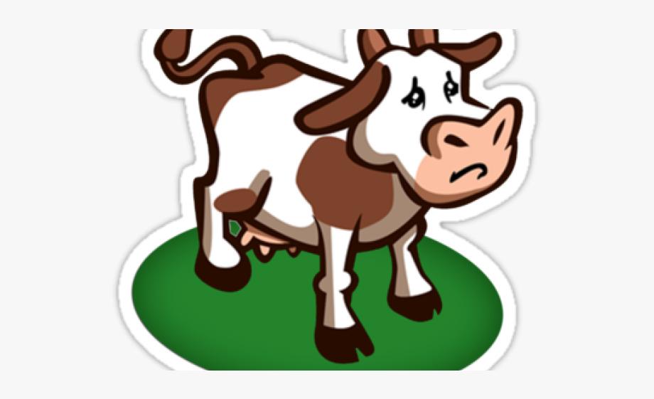 Cattle farmville cow free. Ox clipart sad