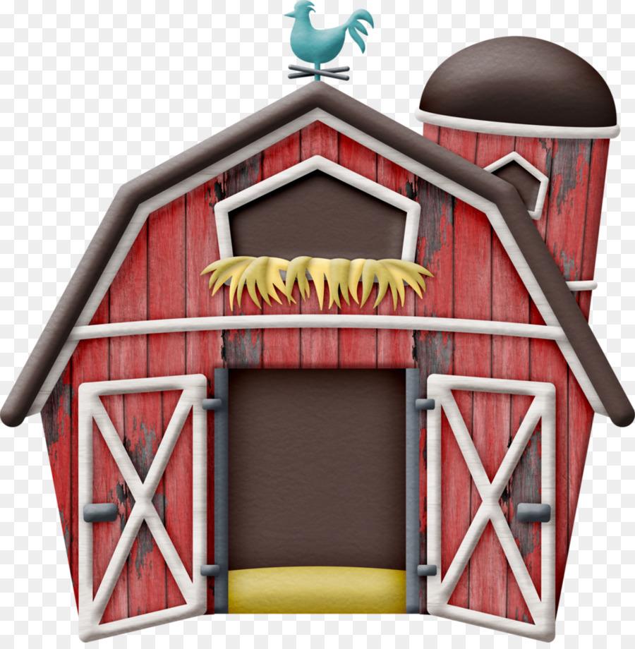 Chicken cartoon farm house. Cattle clipart home