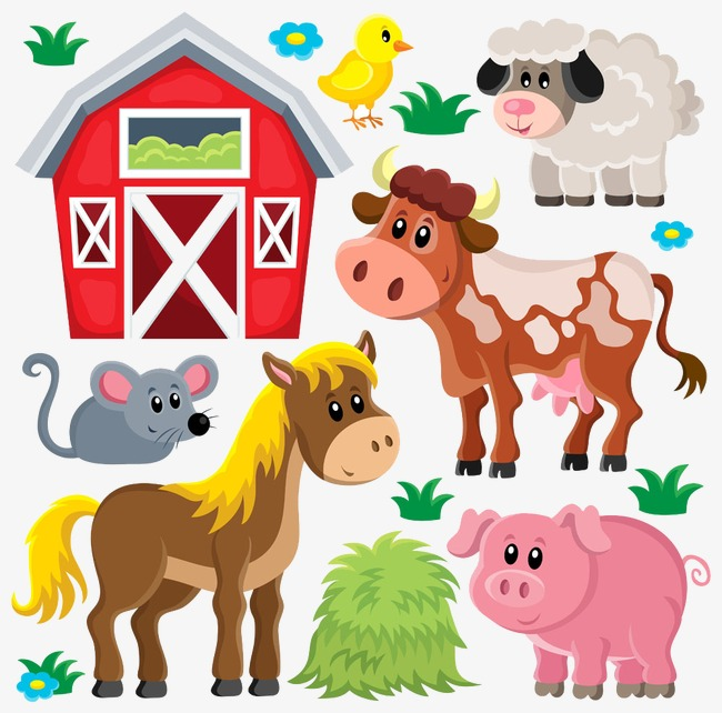 Cattle clipart house. Pork beef and sheep