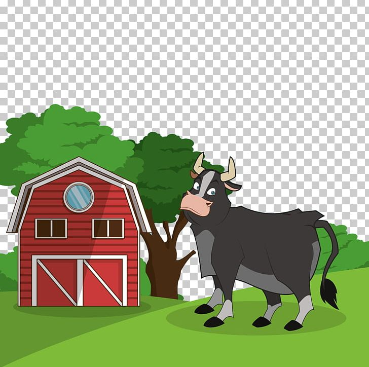 Cattle clipart house. Dairy png animals balloon