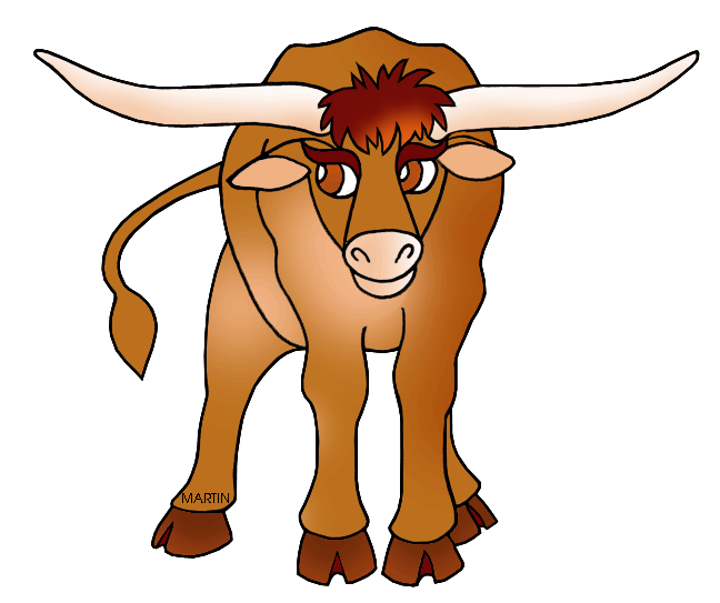 collection of texas. Longhorn clipart background