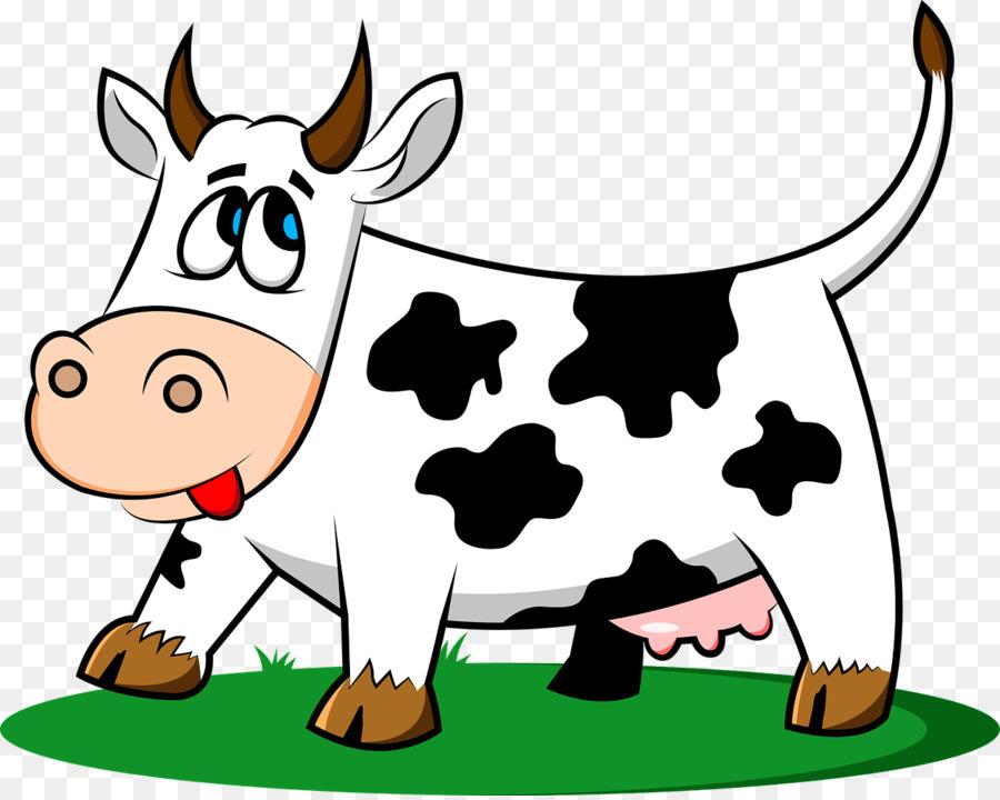 Cows clipart vaca. Cattle milk clip art