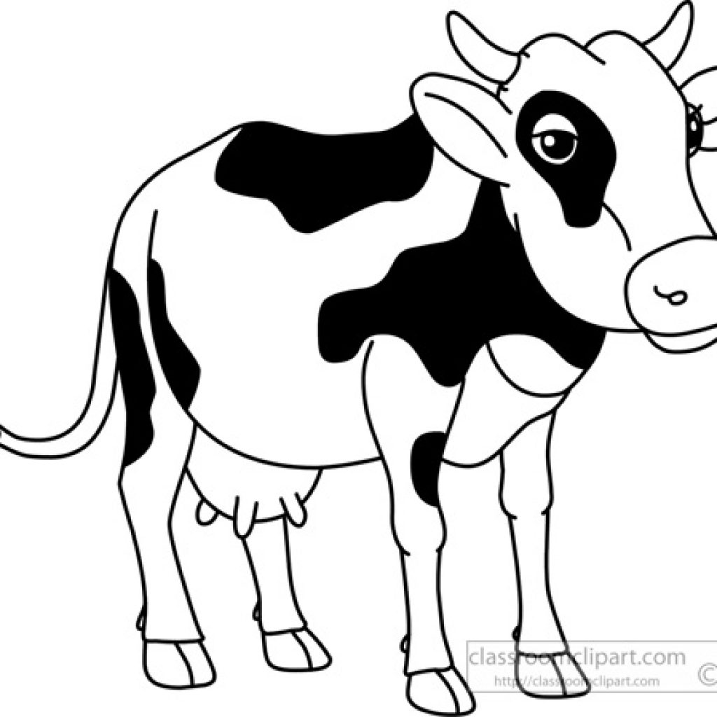 Cattle Clipart Outline Cattle Outline Transparent Free For