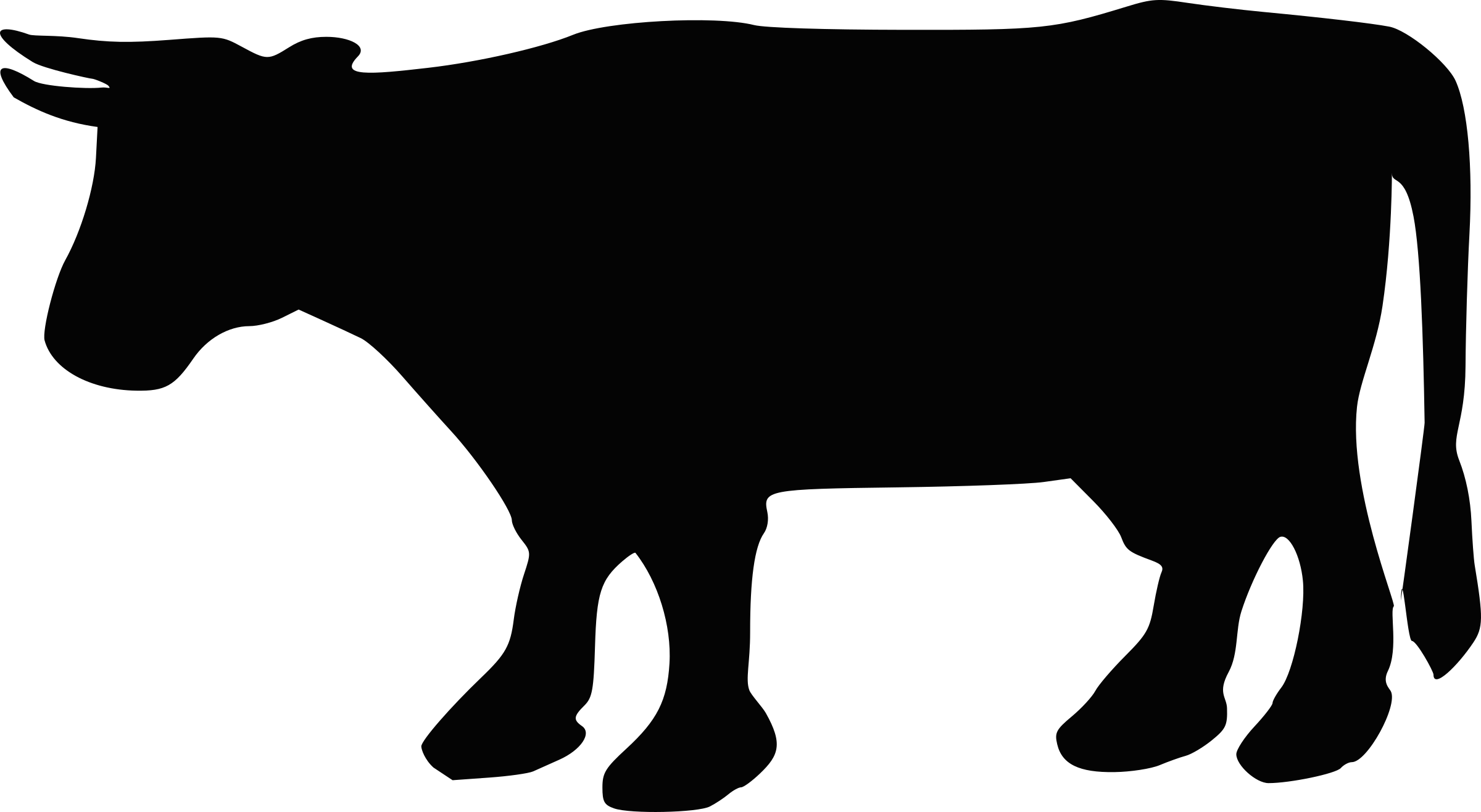 Silhouette png at getdrawings. Clipart cow animal