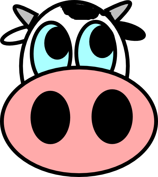 Clipart snake face. Cow art of being