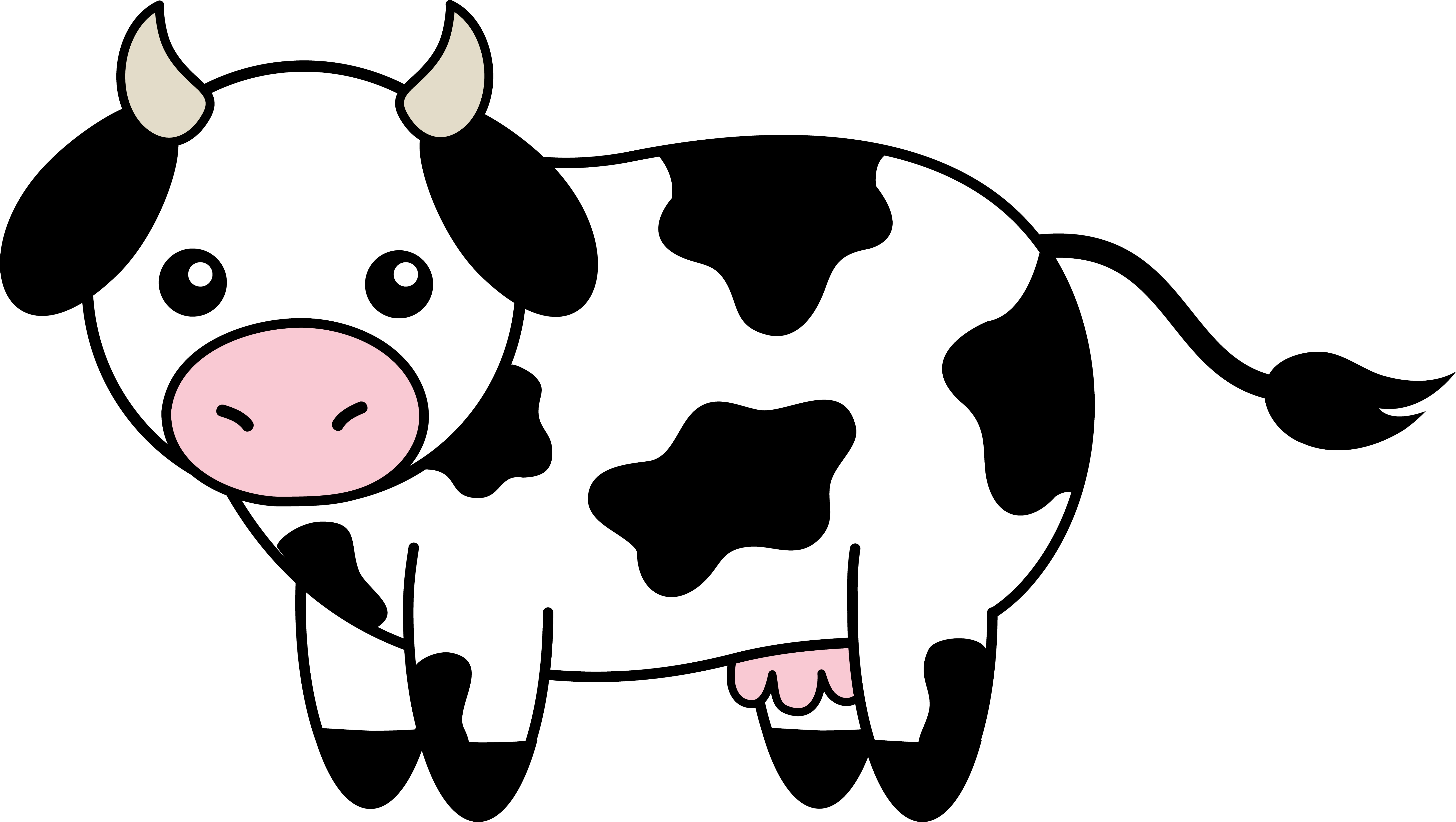 clipart doctor cow