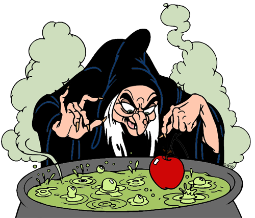 Evil queen witch and. Cauldron clipart brew