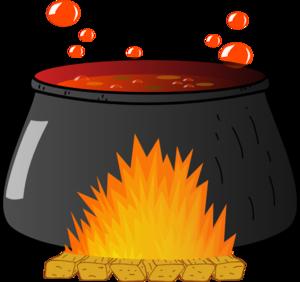 Cauldron clipart clip art. Boiling at clker com