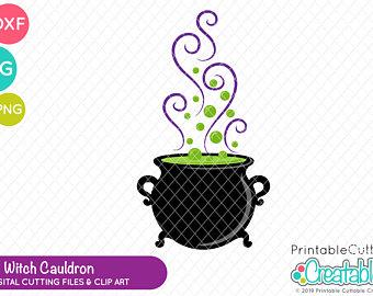 Cauldron clipart clip art. Etsy