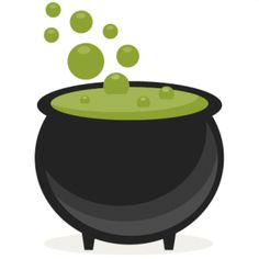 Cauldron clipart cute. Witch panda free images