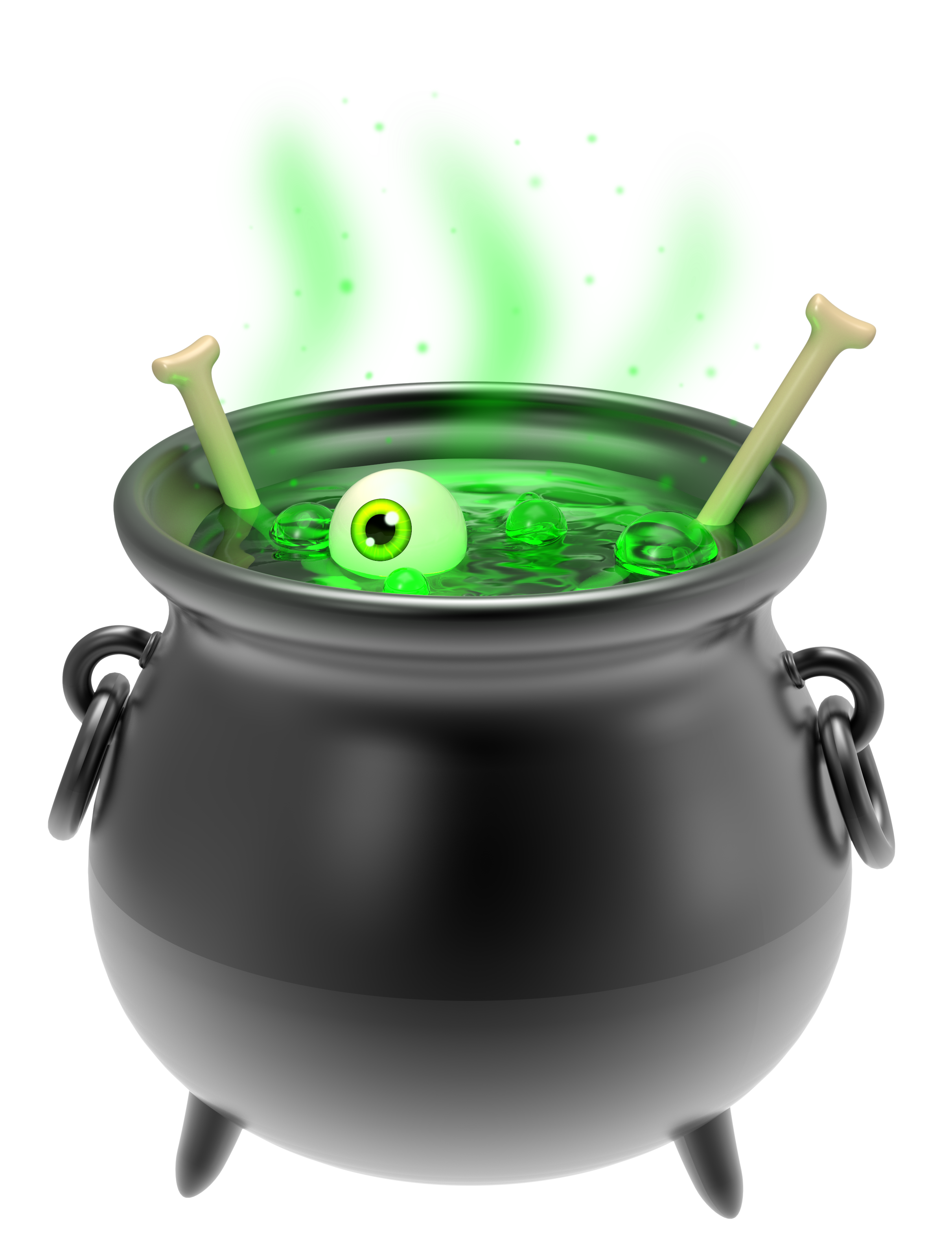 Black png image gallery. Witch clipart cauldron