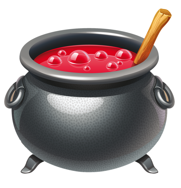 Cauldron clipart halloween food. Witch craft inspirations in