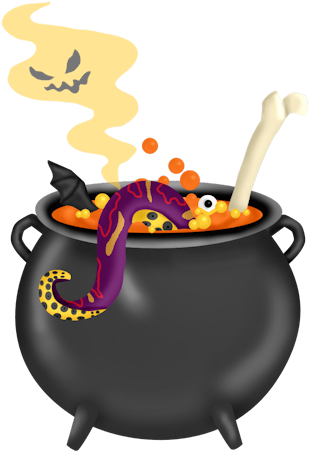 Pin by hollie powell. Cauldron clipart halloween food