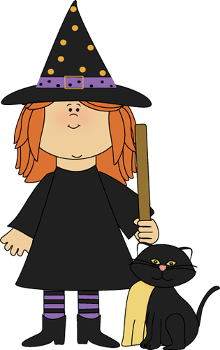 Witch clipart childrens. Halloween clip art images
