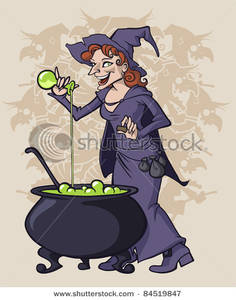 Cauldron clipart potion. A witch pouring into