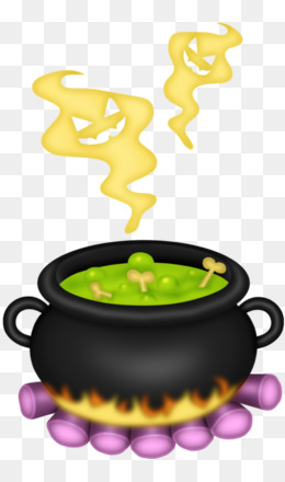 Cauldron clipart potion. Witchcraft clip art halloween