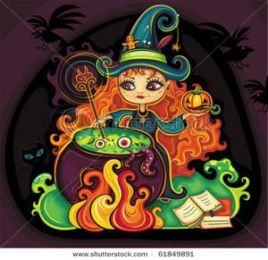 Royalty free image a. Cauldron clipart potion