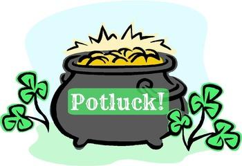 Cauldron clipart potluck. St patrick s feast