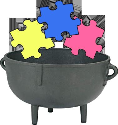 Image puzzle png auburn. Cauldron clipart potluck
