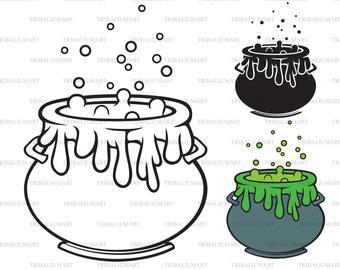 Cauldron clipart svg. Etsy