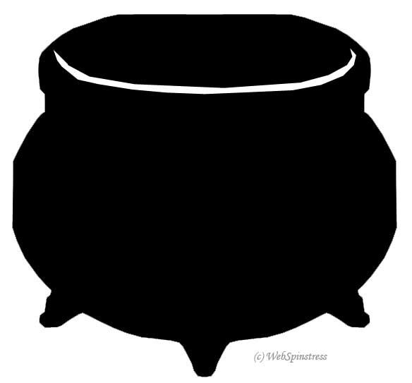 Cauldron clipart. Witch panda free images