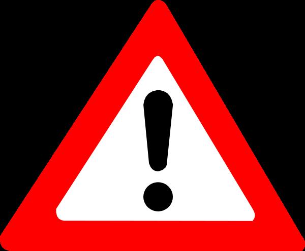 Caution clipart alert sign. Warning clip art clipartbarn