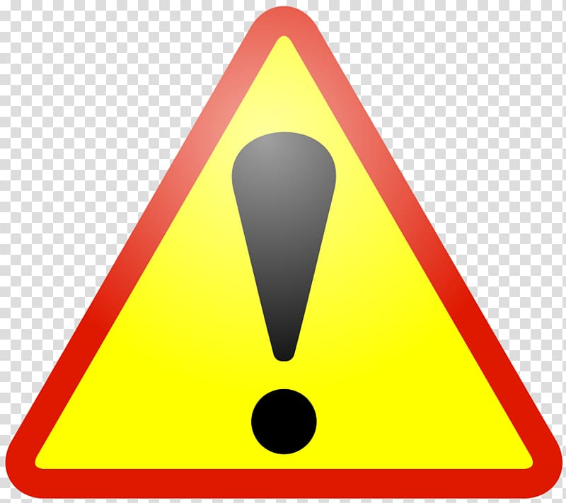 Caution clipart alert sign. Warning signage computer icons
