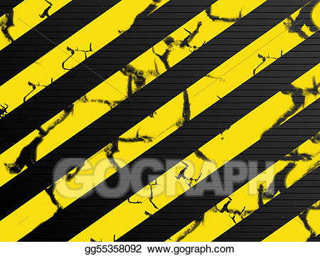Caution clipart background. Stock illustration gg gograph