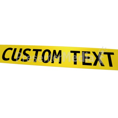 Caution clipart background. Custom tape signs and