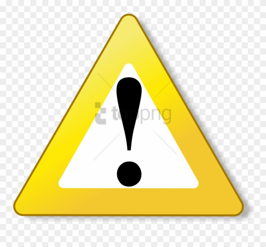 Caution clipart background. Free png image with