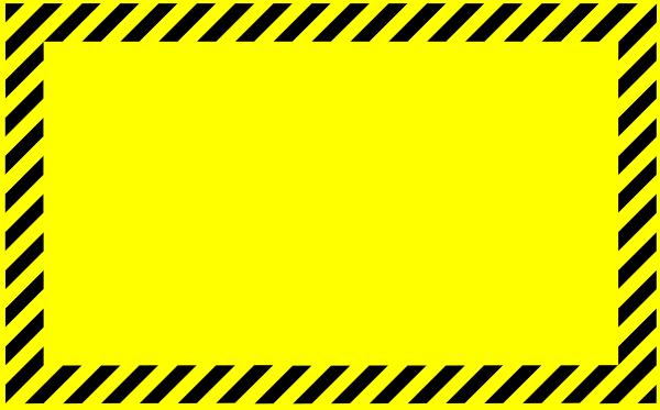 Free construction cliparts download. Caution clipart border
