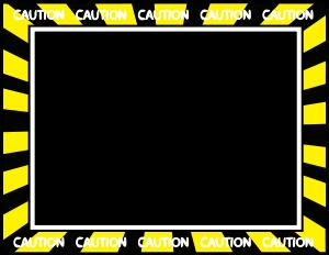 Caution border