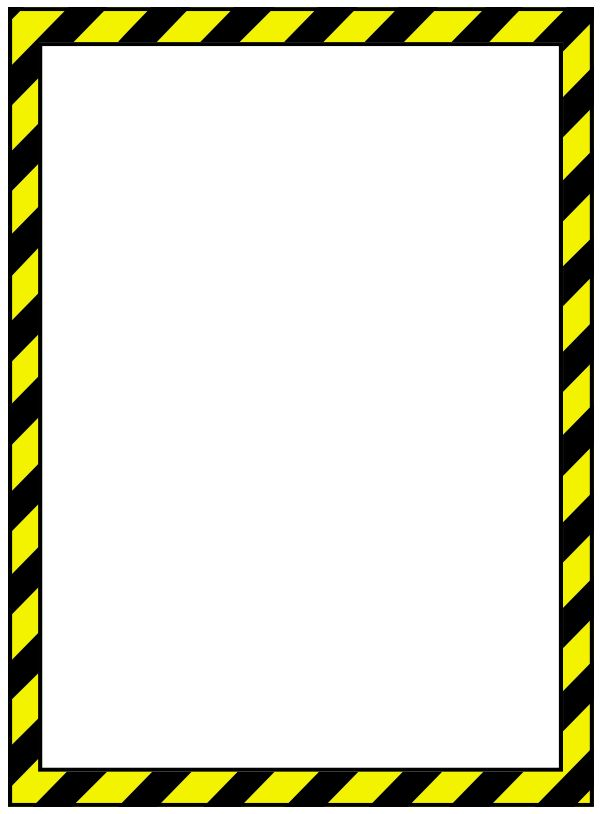 Caution clipart border. Tape free download best